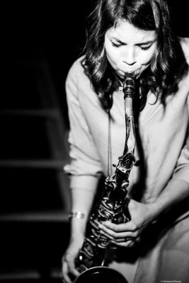 Melissa Aldana (2018) at Jimmy Glass, Jazz Club. Valencia.