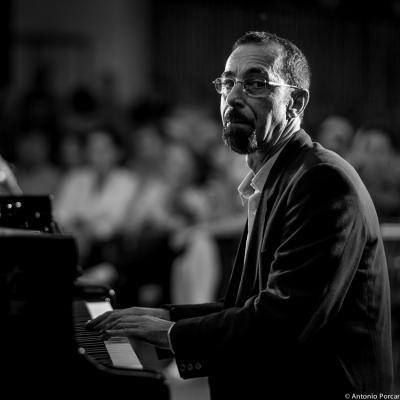 Fabio Miano (2014) en Peñíscola con Perico Sambeat