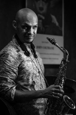 Miguel Zenón (2018) at Jimmy Glass Jazz Club. Valencia.