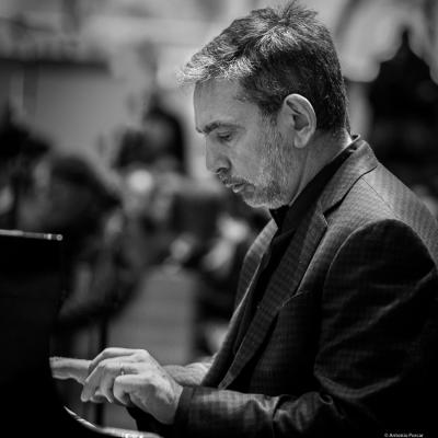Mike Ledonne (2017) in Saint Peter's Church of NYC. Bobby Hutcherson Memorial