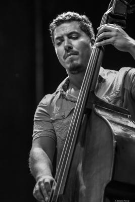 Milton Russell at Providencia Jazz Festival 2018. Santiago de Chile.