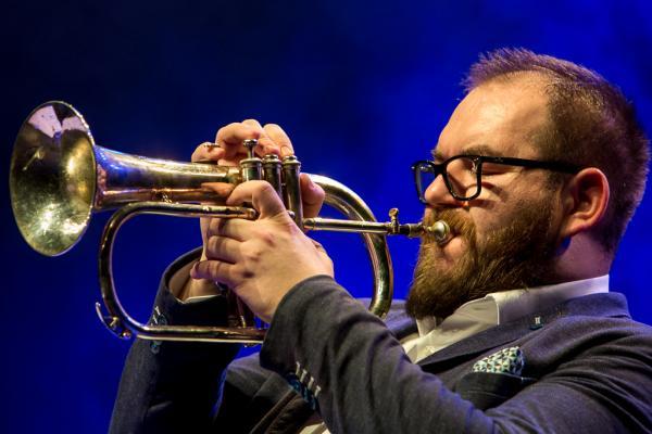 Miroslav Hloucal at Jazzinec 2018. Trutnov