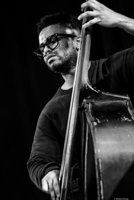 Nick Dunston. The Jazz Gallery. NYC, 2018.