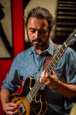 Nicolás Vera (2018) at Thelonious Jazz Club. Santiago de Chile.
