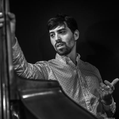 Noam Wiesenberg (2018) at Jimmy Glass Jazz Club. Valencia.