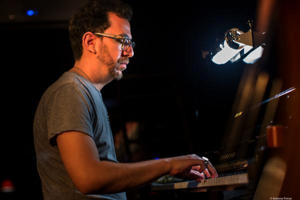 Omer Klein (2018) at Jimmy Glass Jazz Club. Valencia.