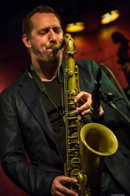 Ondrej Stveracek (2017) in  Jazz Dock. Praha .