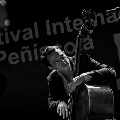 Paul Sikivie in Festival de Jazz de Peñíscola 2016.
