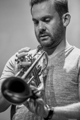 Quentin Collins at JazzPalencia Festival 2017.