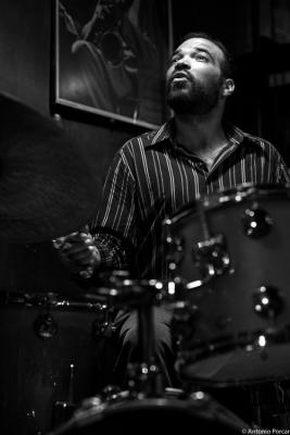 RJ Miller (2015) in Jimmy Glass Jazz Club. Valencia.