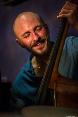 Raffaele Bossard (2018) at Jimmy Glass Jazz Club. Valencia.