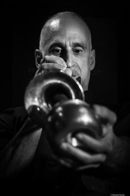 Ralph Alessi (2018) at Jimmy Glass Jazz Club. Valencia.