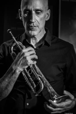 Ralph Alessi (2018) at Jimmy Glass Jazz Club. Valencia.