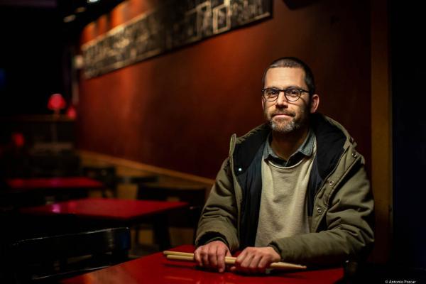 Ramón Prats (2020) at Jimmy Glass Jazz Club. Valencia.