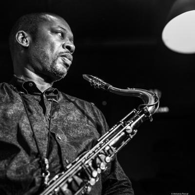 Ravi Coltrane (2018) at Jimmy Glass Jazz Club. Valencia.