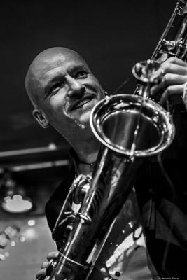 Ray Aichinger (2019) at Jazz Dock. Prague. Czech Republic.