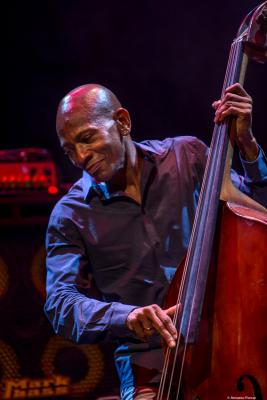 Reggie Washington at Jazzinec 2019. Trutnov. Czech Republic.