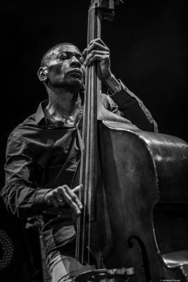 Reggie Washington at Jazzinec 2019. Trutnov. Czech Republic.