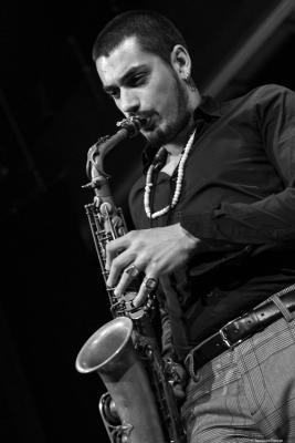 Ricardo Toscano at Festival de Jazz MVA 2018. Málaga.