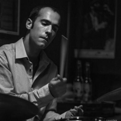 Roger Gutierrez (2015) at Jimmy Glass, Jazz Club. Valencia.