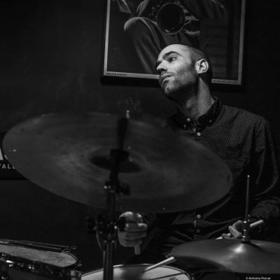 Roger Gutierrez (2019) at Jimmy Glass, Jazz Club. Valencia.