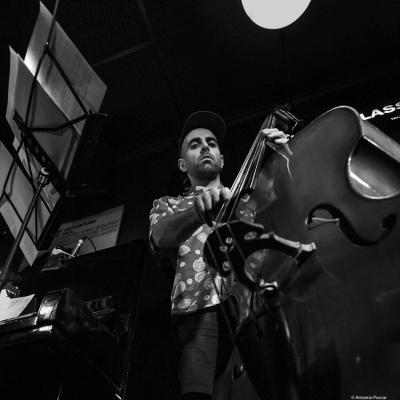 Rubén Carles (2019) at Jimmy Glass Jazz Club. Valencia.