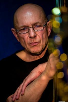 Rudi Engel (2016) in Jimmy Glass Jazz Club. Valencia.