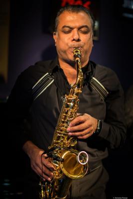 Rudresh Mahanthappa (2018) at Jimmy Glass Jazz Club. Valencia.