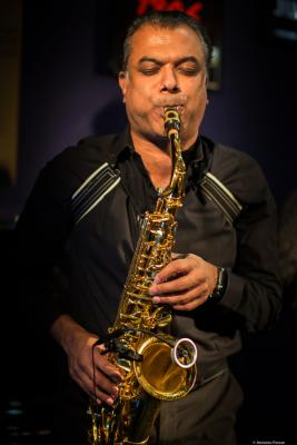 Rudresh Mahanthappa (2018) at Jimmy Glass Jazz Club. Valencia.