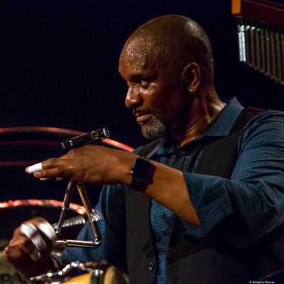 Rudy Bird at Festival de Jazz de Valencia 2018.