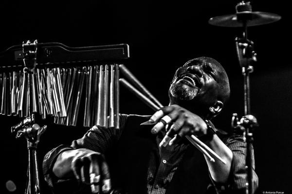 Rudy Bird at Festival de Jazz de Valencia 2018.