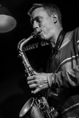 Sam Braysher (2019) at Jimmy Glass Jazz Club. Valencia.