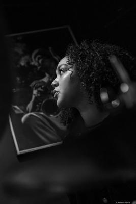 Savannah Harris (2020) at Jimmy Glass Jazz Club. Valencia.