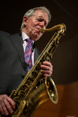 Scott Hamilton (2018) at V Monzón Jazz Festival.
