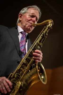 Scott Hamilton (2018) at V Monzón Jazz Festival.