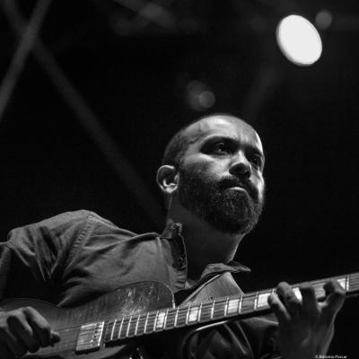 Sebastián Prado at Providencia Jazz Festival 2018. Santiago de Chile.