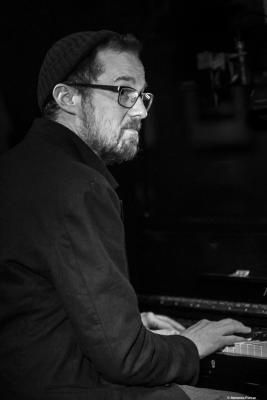 Stefan Aeby (2018) at Jimmy Glass Jazz Club. Valencia.