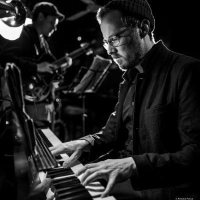 Stefan Aeby (2018) at Jimmy Glass Jazz Club. Valencia.