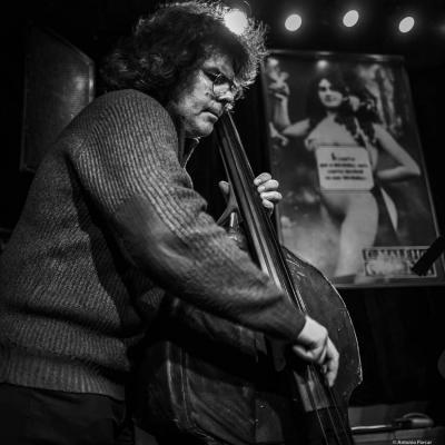 Taras Voloshchuk (2019) at U Maleho Glena. Prague