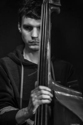 Tilman Oberbeck (2019) at Jimmy Glass Jazz Club. Valencia.