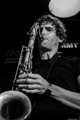 Tobias Meinhart (2019) at Jimmy Glass Jazz Club. Valencia.