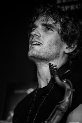 Tobias Meinhart (2019) at Jimmy Glass Jazz Club. Valencia.