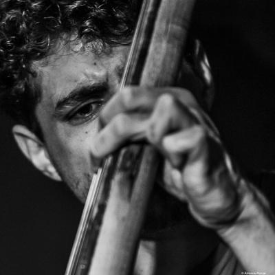 Tom Berkmann (2019) at Jimmy Glass Jazz Club. Valencia.