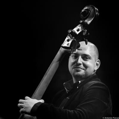 Tomas Baros (2015) at Jazzinec. Trutnov. Czech Rep.