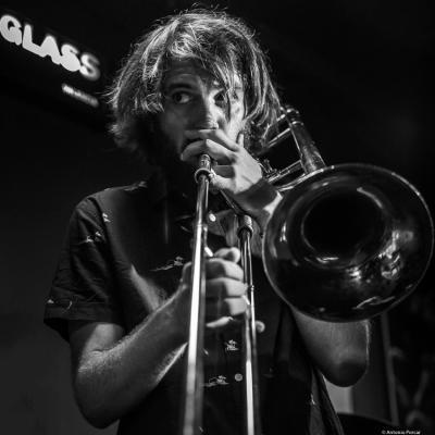 Tomeu Garcías (2018) at Jimmy Glass Jazz Club. Valencia.