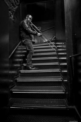 Toni Belenguer at Jamboree. 2017. Perico Sambeat plays Zappa.