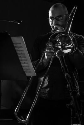 Toni Belenguer (2018. Perico Sambeat's Don Ellis Tribute Ensemble)