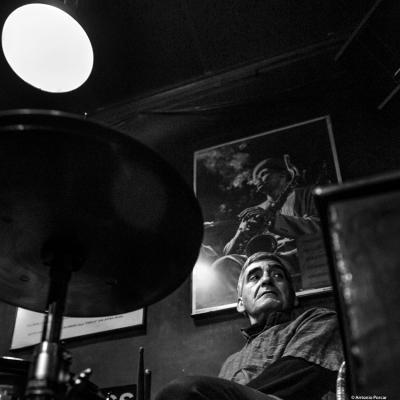Vicente Espí (2018) in Jimmy Glass Jazz Club. Valencia.