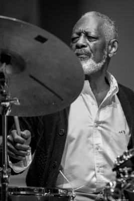 Victor Lewis (2017) in Saint Peter's Church of NYC. Bobby Hutcherson Memorial