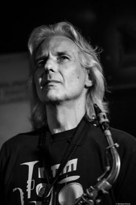 Perico Sambeat (2018) at Jimmy Glass Jazz Club. Valencia.